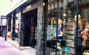 Séance shopping chez LEPAPE