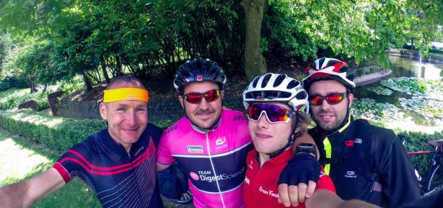 Sur la route de la Hollande en vélo